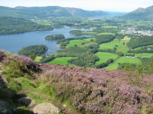 View of Keswick from Walla Crag