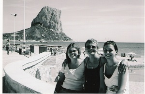 Calpe, Spain - 10 years ago!