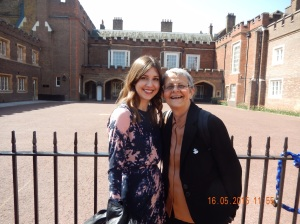 Me and Gem outside St James Palace