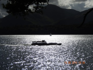 The beautiful Derwentwater at Keswick