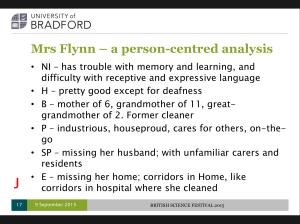 Mrs Flynn's story