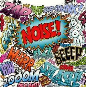 Noise is so distracting, confusing and muddling.....