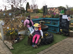 All finished.........our wonderful DAA garden entry at the Yorkshire Garden Festival 2016