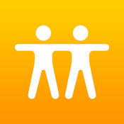 The Apple icon for Find Friends...